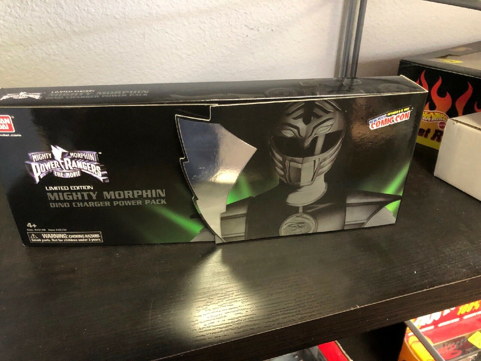 NYCC 2015 Mighty Morphin Power Rangers Movie Dino Chargers Power Pack