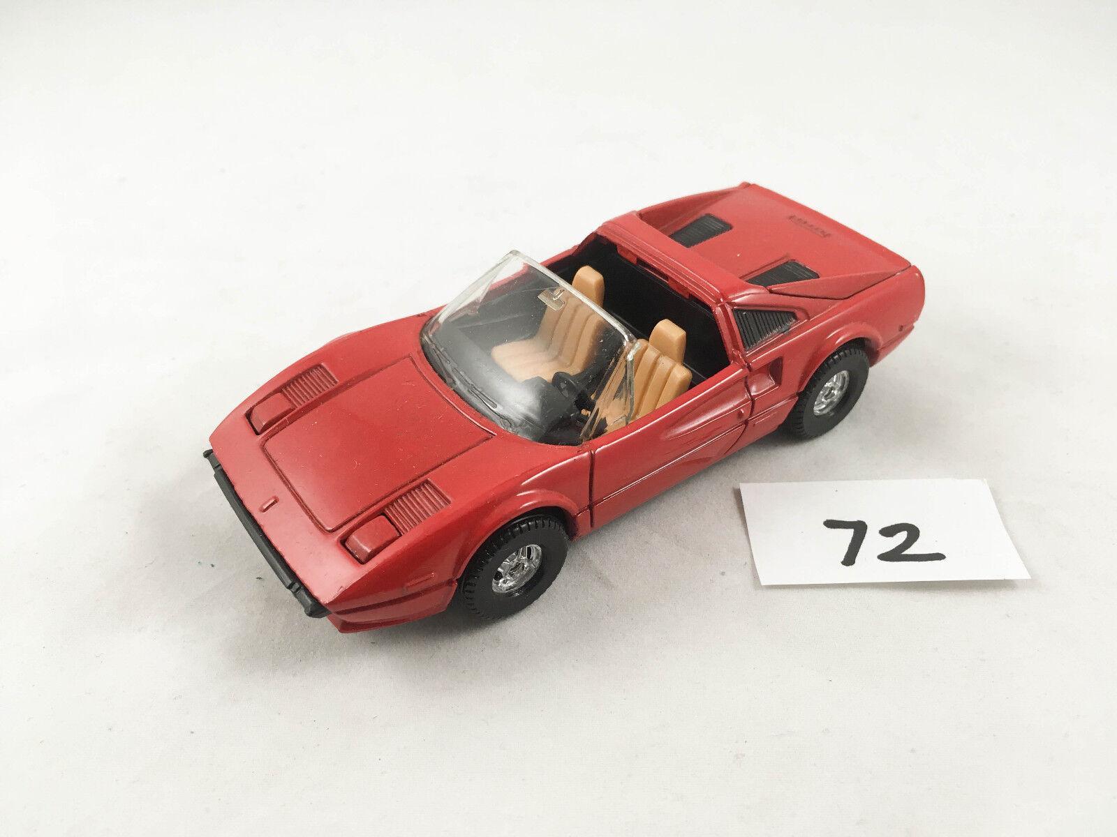 RARE CORGI TOYS FERRARI 308 GTS MAGNUM PI TV SERIES SERIES SERIES CAR DIECAST 1980S 83d954