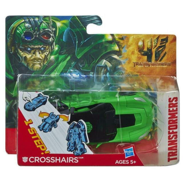 NEW TRANSFORMERS AGE OF EXTINCTION - 1 STEP FIGURE CROSSHAIRS A8119