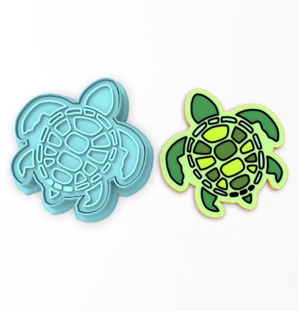 Sea Turtle 102 Cookie Cutter