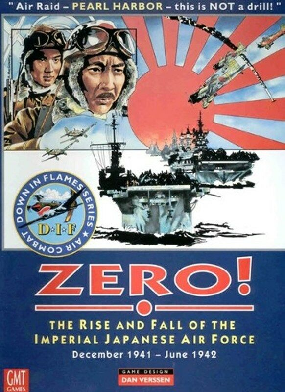 MINT, GMT Zero  Rise and Fall of Imperial Japanese Air Force; DIF Vol 3