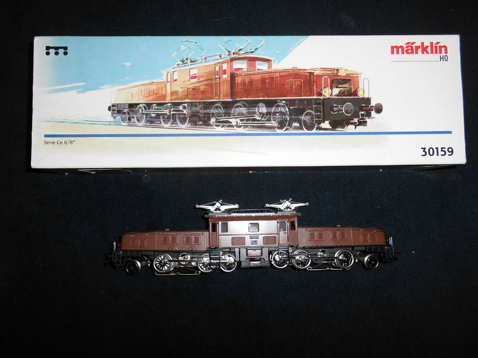 Marklin H0 - 30159 Krokodile Serie CE 6 8 brown - OVP