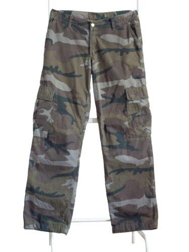 Carhartt vintage 90s camo cargo pants