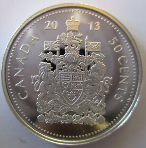 CANADA-2013-50-CENTS-99-99-PROOF-SILVER-HALF-DOLLAR-HEAVY-CAMEO-COIN