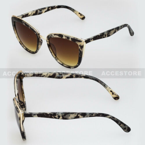 Women/'s Retro Cat Eye Sunglasses Classic Designer Vintage Fashion Shades