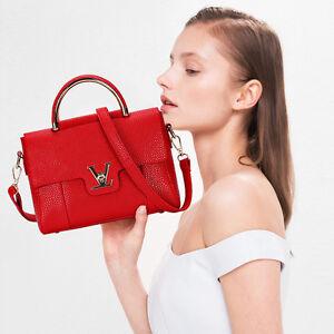 Women-Leather-Handbag-Shoulder-Bag-Tote-Purse-Crossbody-Messenger-Hobo-Satchel