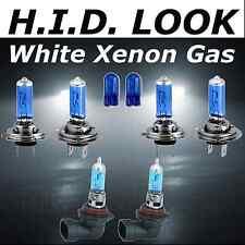 H7 H7 HB4 501 55w White Xenon HID Look High Low Fog Beam Headlight Bulb Pack