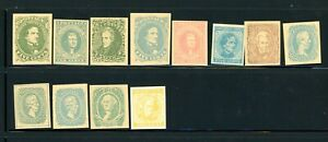 Confederate States - Outstanding selection of facsimile - MNH - Nice