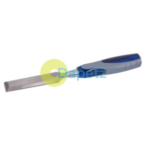 Expert ciseau à bois 25mm menuiserie menuiserie bois outils de sculpture soft grip bricolage