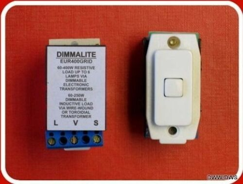 Boîte de 40 soft start variateur modules s/'adapte crabtree grille système de commutation 60-400w
