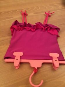girls-clothes-7-8-years-Purple-Swimwear-Top