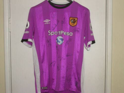 Squad Signed Hull City AFC 201617 Season Away Shirt 15 Autographs!
