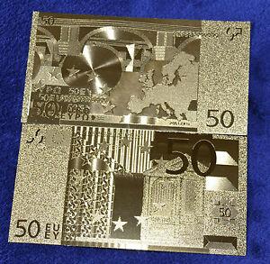 50-Euro-Banknote-Geldschein-in-Gold-Originalgroesse-Goldfolie-mit-Zertifikat
