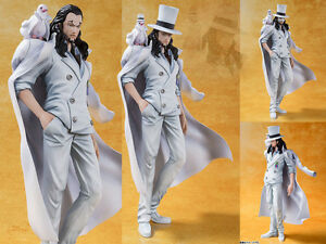Japan-Anime-One-Piece-Figuarts-Zero-Rob-Lucci-FILM-GOLD-Ver-Figure-Figurine-16cm