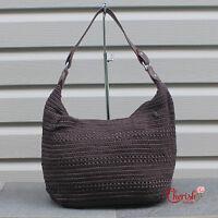 Women Woven Crochet Tote Shoulder Handbag Handmade Bohemian Hobo Trendy Fashion