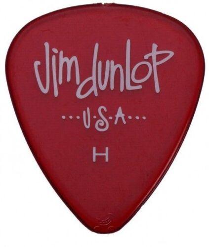 Heavy Single Dunlop Gel Standard Red Guitar Pick H