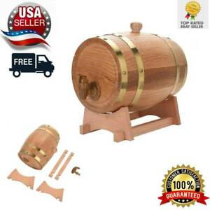 3L-5L-Wine-Barrel-Wood-Oak-Timber-Whiskey-Rum-Mini-Port-Dispenser-Keg
