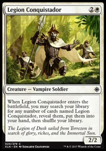 4x CONQUISTADOR DELLA LEGIONE LEGION CONQUISTADOR Magic XLN Mint