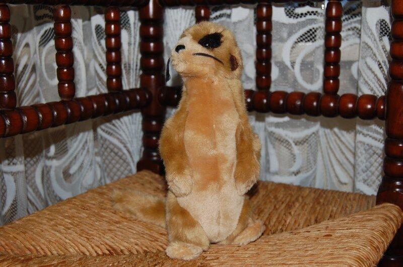 Semo Germany Beige Meerkat Plush 9 Inch w Tag