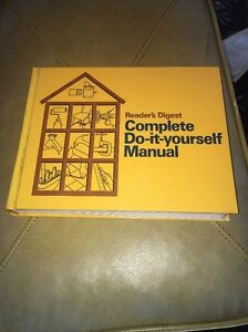 Vtg readers digest complete do it yourself manual fix repair hard image is loading vtg readers digest complete do it yourself manual solutioingenieria Gallery
