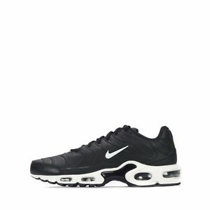 Details zu Nike Air Max Plus Tuned VT TN1 Tuned Men's Lace Up Leather Trainers Shoes Black