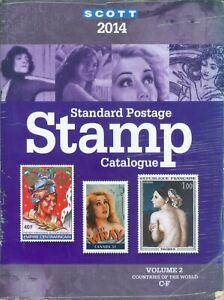SCOTT-2014-STANDARD-STAMP-CATALOG-VOLUME-2-C-F-COUNTRIES-OF-THE-WORLD