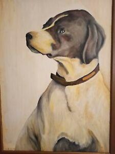 Peinture a l'huile sur panneau de 50 X 70 cm de Henry Prost artiste coté