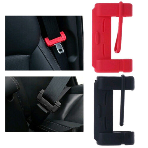 Car Seat Belt Buckle Silicone Covers Clip Cover Accessories HKA!