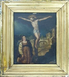 CRUCIFIXION-OF-CHRIST-OIL-ON-COPPER-ANONYMOUS-CENTURY-XVIII