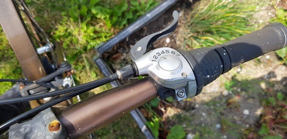 Herrecykel, andet mærke Designer cykel, 7 gear