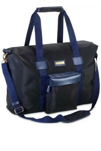 Image is loading NWT-Versace-Parfums-Men-Duffle-Bag-Weekender-Gym- a548e10327063