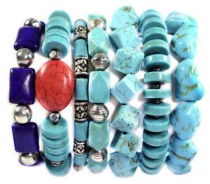 Vintage-Turquoise-Stacking-Bracelet-Band-Gemstone-Jewellery-Tantric-Tokyo-UK