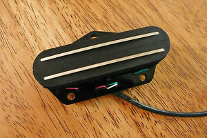 TWIN BLADE VINTAGE SOUND BRIDGE PICKUP 4 CONDUCTOR WIRES FOR TELECASTER