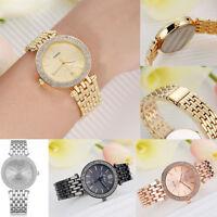 Fashion Wristwatch Women Ladies Girl Stainless Steel Quartz Crystal LVPAI Watch