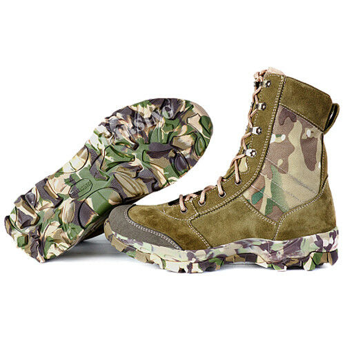 Men's Combat Boots Tactical Military Garsing Hiking Leightweight Multicam MTP