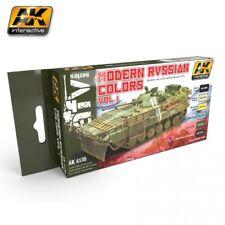 AK-Interactive Modern Russian Colors Set Vol. 1 AK4130 Release