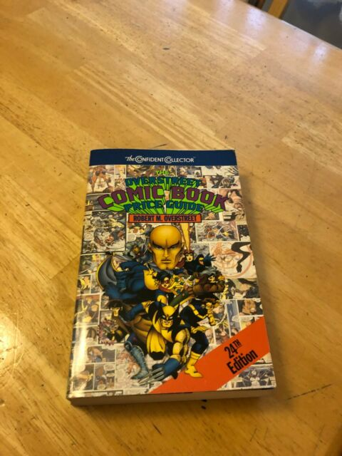 The Overstreet Comic Book Price Guide 24th Edition - Soft Cover, 1994