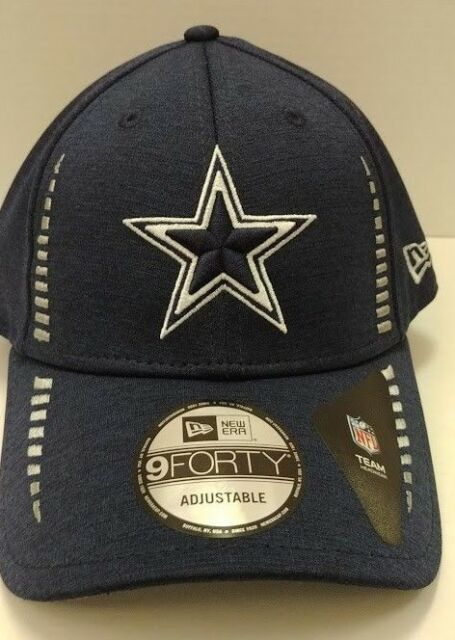 198b7509022 Dallas Cowboys Speed Authentic New Era Navy Adjustable Hat - Free Ship -  OSFM