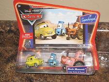 Disney Pixar Cars Supercharged Movie Moments Luigi Guido & Tractor VHTF Rare