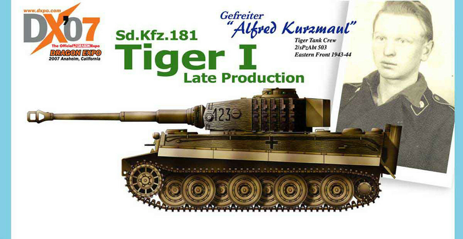 DRAGON ARMOR 1  72,    très rare    Gerhomme Tiger I, Art.  60320  centre commercial professionnel intégré en ligne
