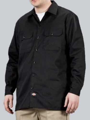 Dickies Hemd Longsleeve Work Shirt//Hemd schwarz Gr. 44-62 S bis 2XL