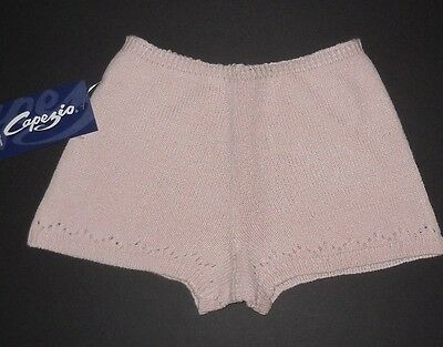 NWT Capezio pointelle cover up sweater shorts pink child sizes CS200C