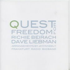 RICHIE BEIRACH  DAVE LIEBMAN    CD  QUEST FOR FREEDOM