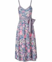 Joe Browns Ladies Day Dress Size UK 16 Floral/Print/Cotton/Summer/Flowers/NEW