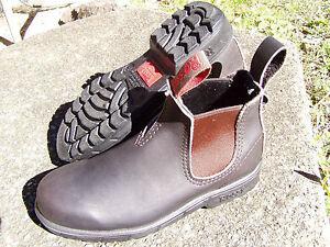 ROSSI-Endura-303-Dark-Brown-Claret-Boot-New-Unworn