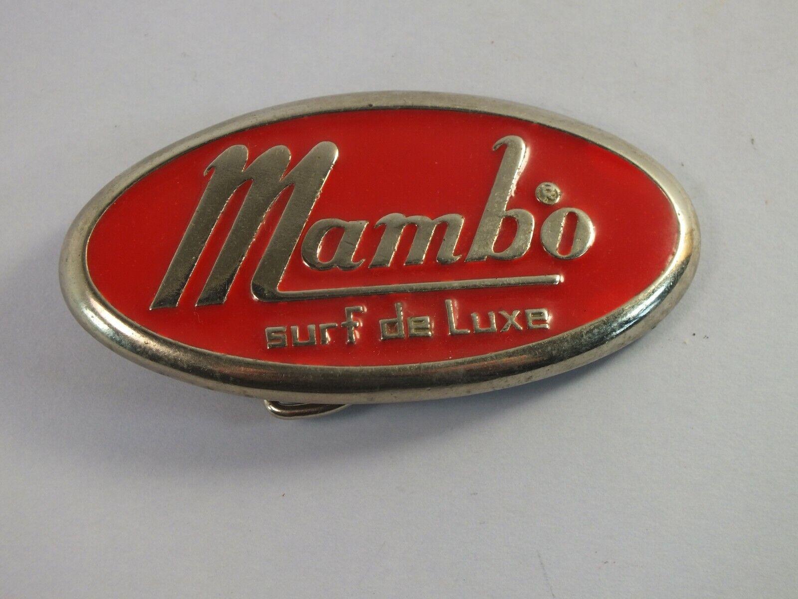 MAMBO Surf De Luxe Metal Belt Buckle