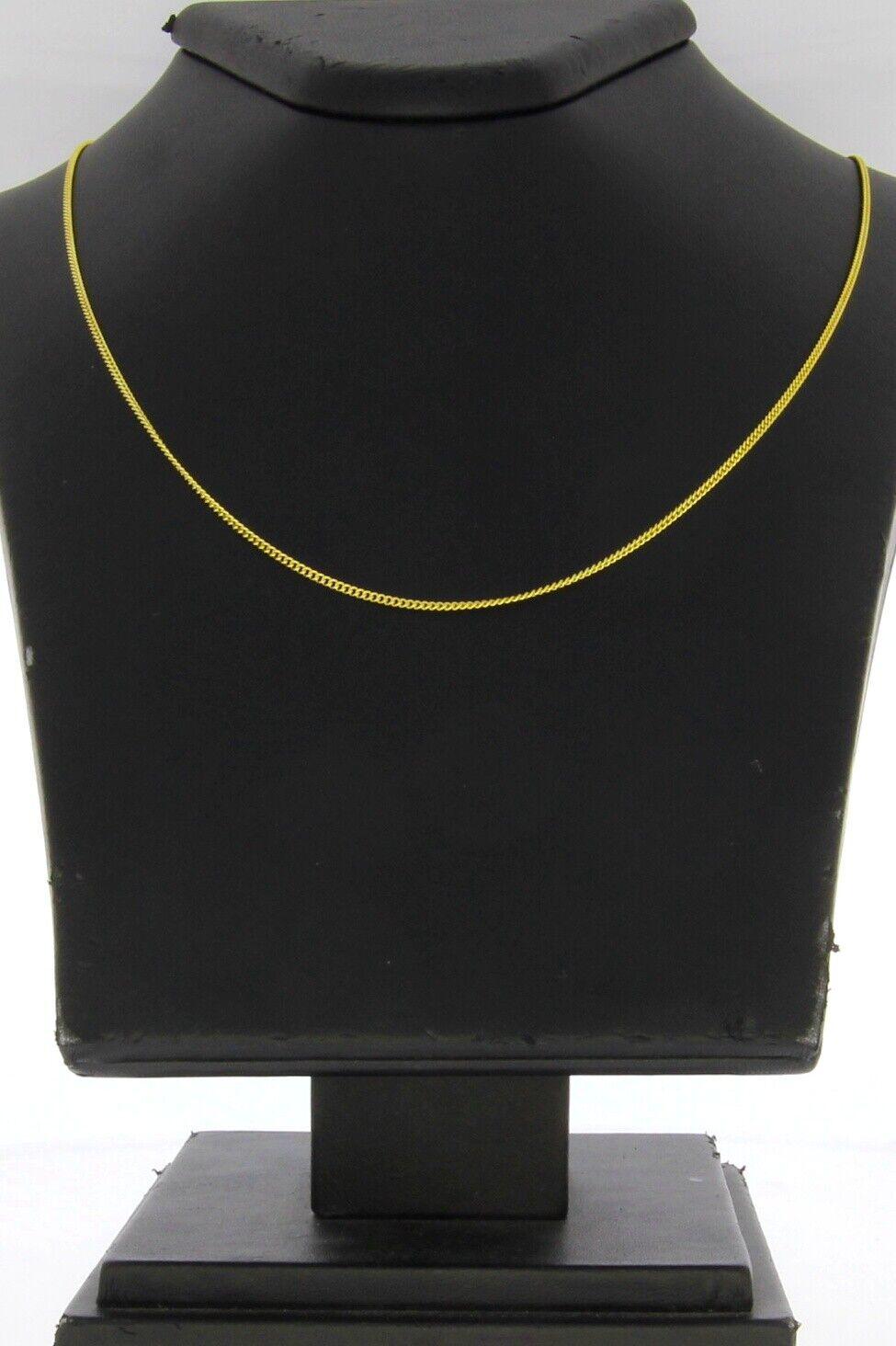A2274-585er yellowgoldkette Lang 45 cm Breit 13 mm Gewicht 2,8 Gramm