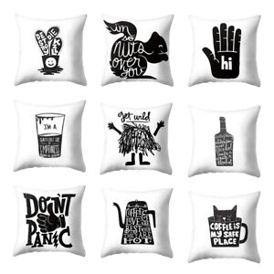 Am-GT-Letter-Cup-Animal-Cat-Pillow-Case-Cushion-Cover-Sofa-Bed-Car-Cafe-Decor