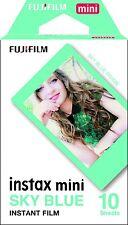 Fujifilm Instax Mini blue border Film Shot - Pack of 10