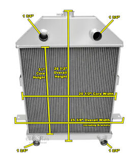 3 row western champion radiator for 1941 ford truck flathead Ford Ranger Parts Diagram image is loading 3 row western champion radiator for 1941 ford